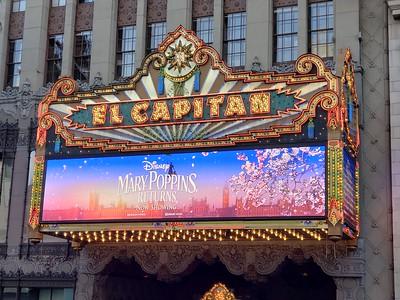 El Capitan Theatre - Mary Poppins Returns