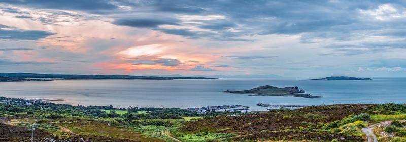 Howth Harbor, Ireland's Eye & Lambay Islands