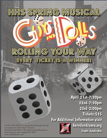 Guys and Dolls - April 2017