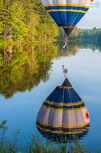 Sam Canders at Piscataquis Heritage Hot Air Balloon Festival