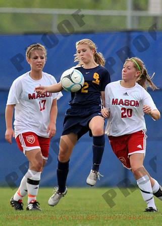 Girls Varsity Soccer - Grand Ledge at Mason - May 21