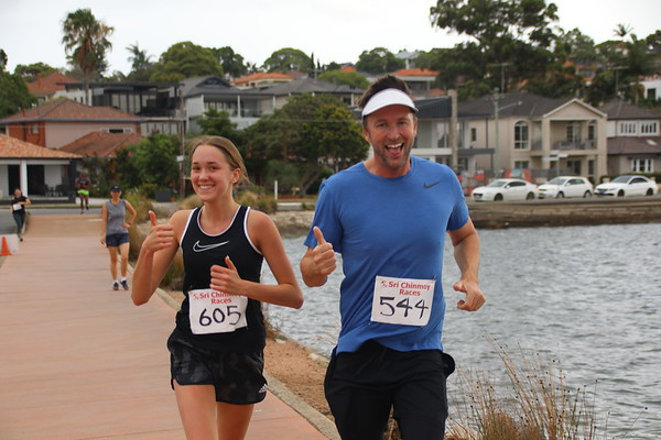 Sri Chinmoy Iron Cove 14km, 7km & 4km Runs, Sunday 8 December 2019