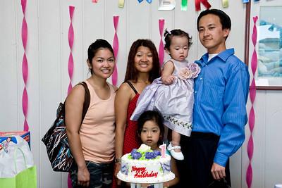 Eliana's 1st: June 21, 2008