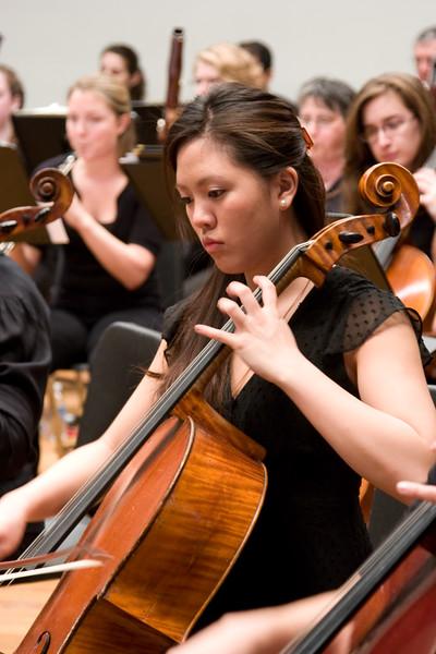 Stephanie Hsu, cello -- Hopkins Symphony Orchestra, March 2008