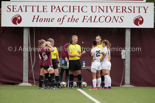 20180929 Womens Soccer Seattle Pacific University Falcons versus Northwest Nazarene University Nighthawks Snapshots
