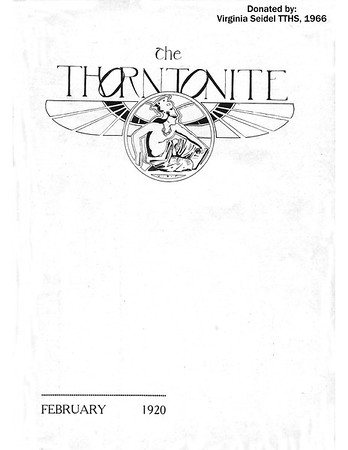 TTHS 1920 Thorntonite Newsletter