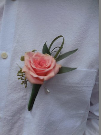 rose and mixed greens-$15