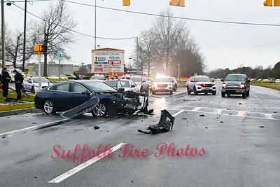 Fatal MVA - County Rd 101 & Station Rd, Medford, NY -  1/3/21