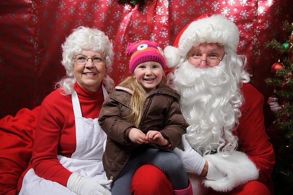 2013 Santa Third Friday Santa Portraits!