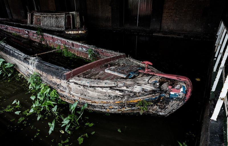 Derelict Narrow Boat