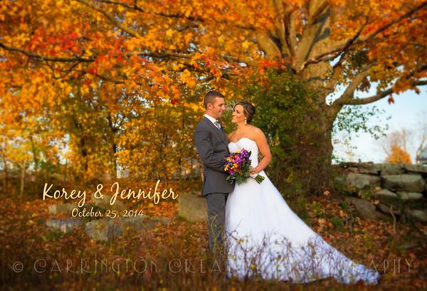 Jennifer & Korey's Wedding