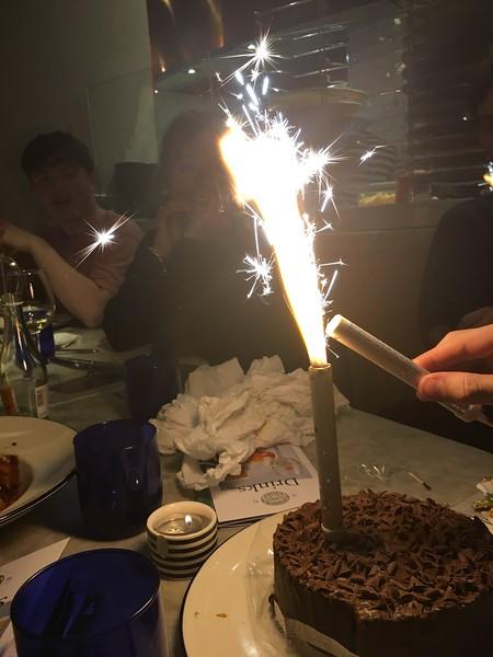 Pizza Express Birthday cake.JPG