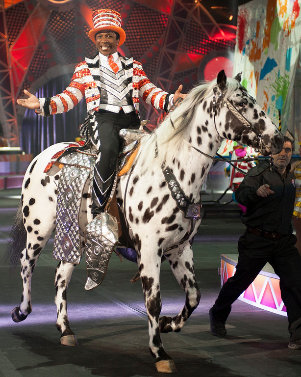 . Denver-raised cowboy and showman Andre McClain is proud to be the latest ringmaster of Ringling Bros. and Barnum & Bailey Circus.