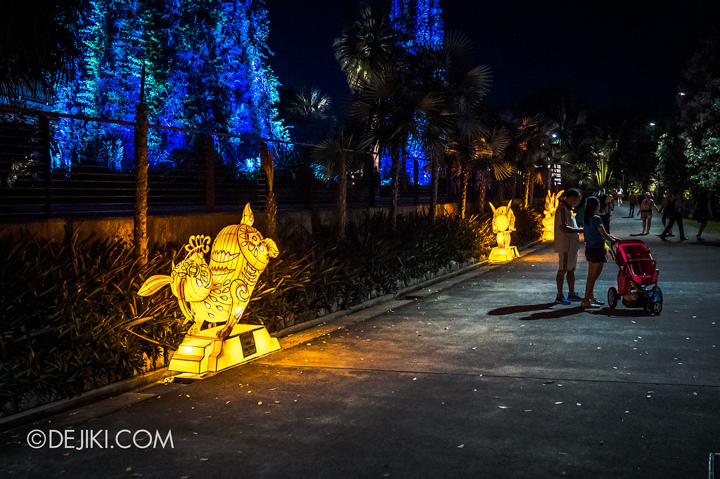 Mid-Autumn at Gardens by the Bay - Giant Lantern Display / Rabbit Lanterns