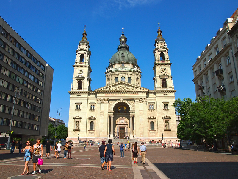 St. Stephen's in Budapest