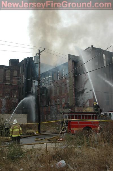 11-24-2008 PA Philadelphia Cambria St.- 3rd Alarm Warehouse
