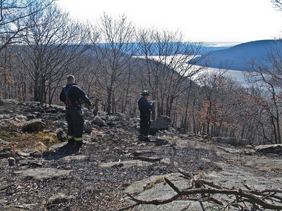 2-23-12 Brush Fire, Bear Mountain Bridge Road