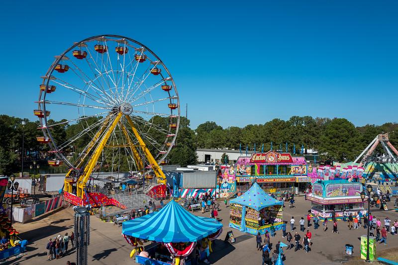 Ferris wheel at NC State Fair 2016
