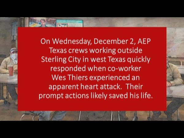 Remarkable guys save co-worker's life