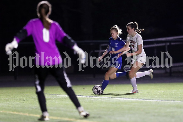 Girls' soccer: Scarborough at Falmouth