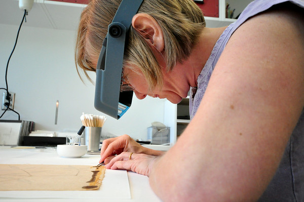 Art Conservation Lab at The Lunder Center at Stone Hill-072214
