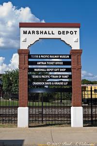 Marshall TX. T&P Depot 10-04-07