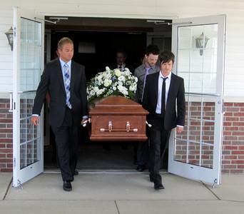 Grandma Bible Funeral August 8, 2012