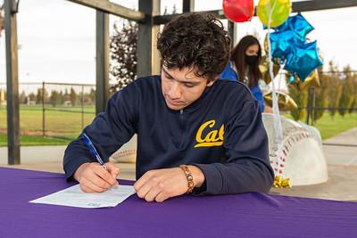 Andres Galan Signing