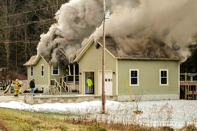 01-21-16 Three Rivers FD House Fire