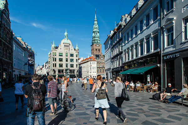 Stroget - walking street