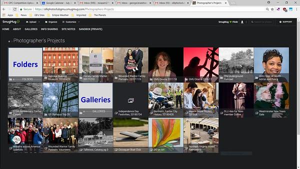 Folder/Gallery Sequence Problem