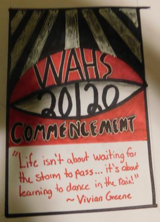 2020 WAHS Commencement Art