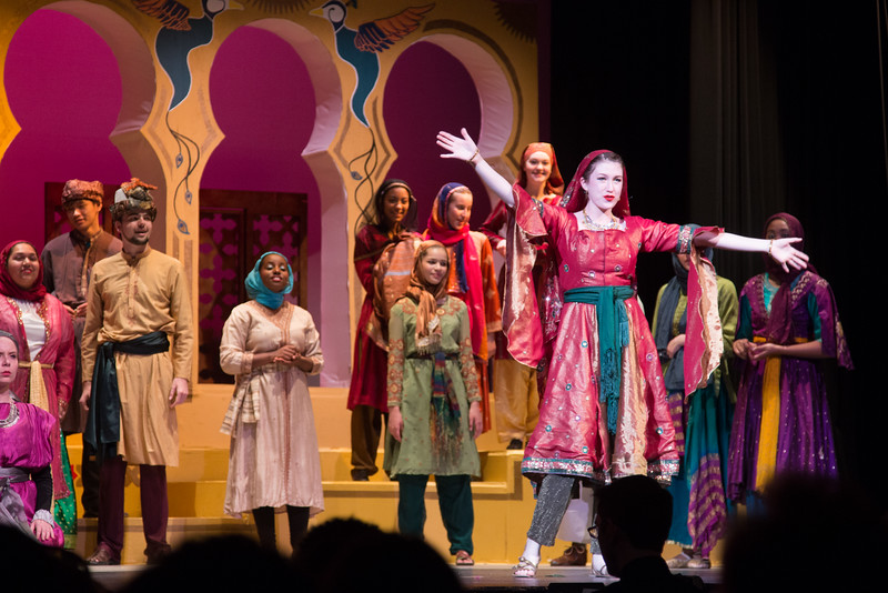 """Lalume (""""Not Since Nineveh"""") -- Kismet, Montgomery Blair High School spring musical, April 15, 2016 performance (Silver Spring, MD)"""
