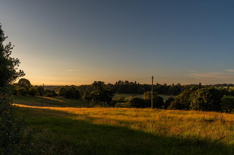 A Golden Arley Sunset