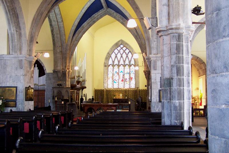St. Nicholas' Church inside