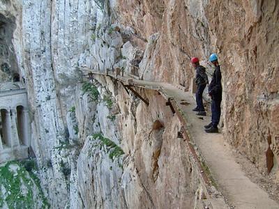 Camino de Rey, El Chorro