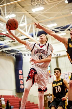 Basketball SoSHS vs Wasatch 2-18-2015