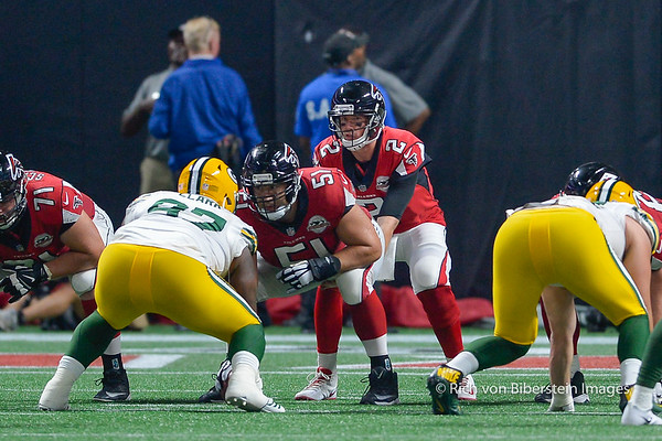 9/17/17 Atlanta Falcons versus Green Bay Packers
