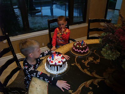 2008-04-18 - Jack and Dylan Abbas and Morgan's Birthday Dinner