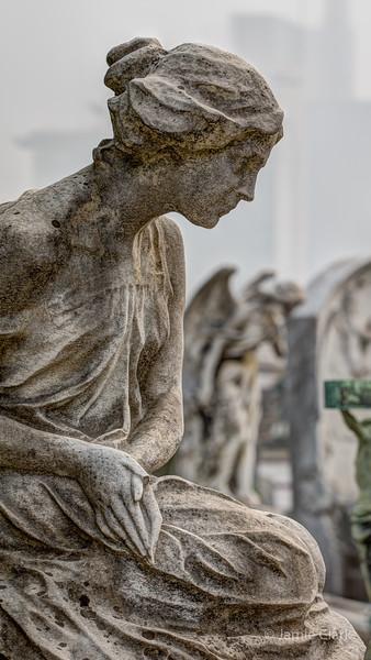 Cimitero Monumentale di Milano, Milan, Italy, October 2017