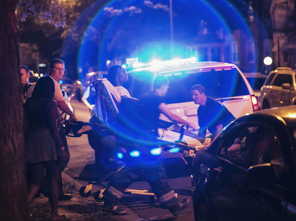 ". <p><b> Chicago officials expressed concern after tallies showed 82 people in the Windy City were shot, 14 of them fatally � </b> <p> A. Over the July 4th weekend <p> B. In June <p> C. Tuesday morning <p><b><a href=\'http://www.chicagotribune.com/news/local/breaking/chi-fourth-of-july-toll-82-shot-14-of-them-fatally-in-chicago-20140707,0,5439185.story\' target=""_blank\"">LINK</a></b> <p>   (AP Photo/Sun-Times Media, Alex Wroblewski, File)"