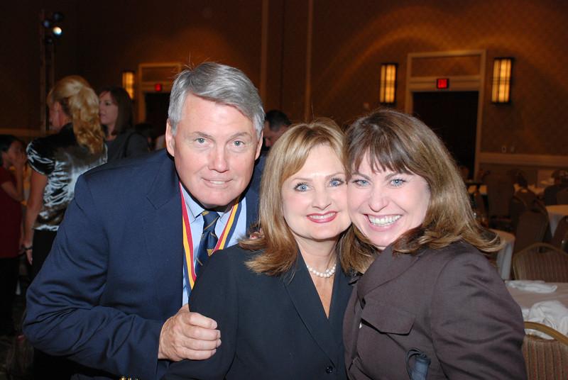Denny McComb, Trisha Anthony and Paula Pedene