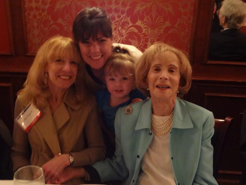 Ellen Rogoff, Nicole Ratner and daughter Emma (Ex. Director) and Zelda.