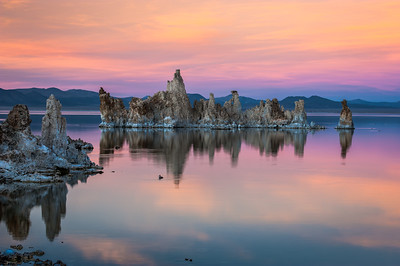 Mono Lake and Eastern Sierras