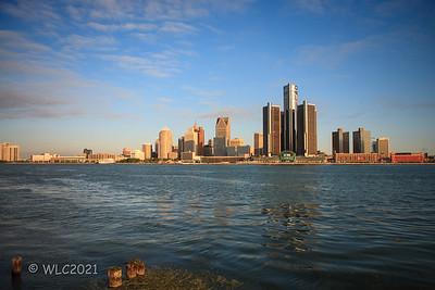 Detroit Skyline 09/16/2008