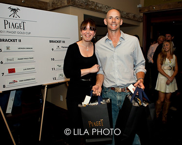 Piaget Gold Cup Draw Party 2011