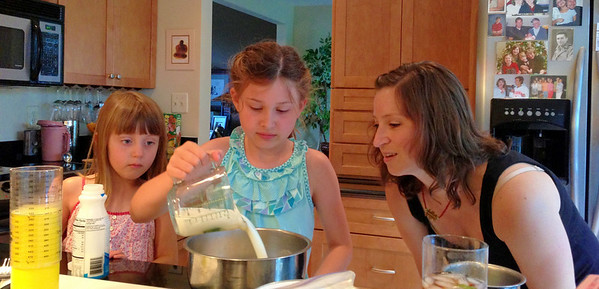 Baking with Aunt Lindsay