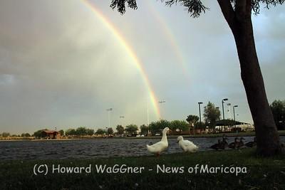 Haboob & Rainbow 6-26-2012