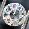 3.83ct Old European Cut Diamond, GIA K SI1 4