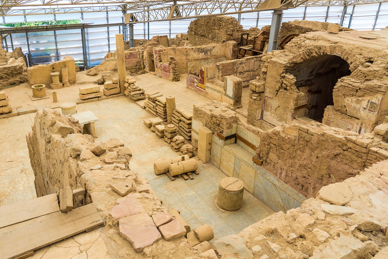 Excavation of the Terrace Houses